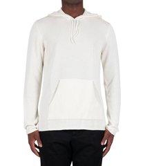 hoodie jumper - cream
