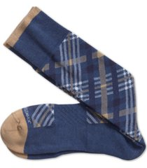 johnston & murphy men's first in comfort argyle socks