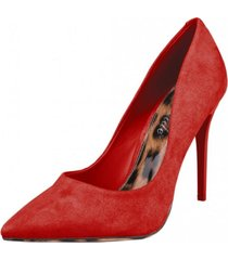 zapato formal peyton rojo weide