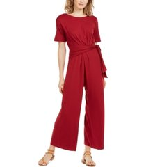 weekend max mara tie-waist jumpsuit