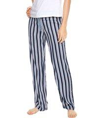pantalón azul-rosa bronzini éxito