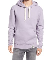 outerknown men's second spin hoodie, size xx-large in mauve at nordstrom