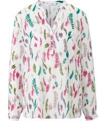 blouse met lange mouwen van peter hahn wit