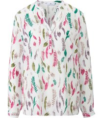blouse lange mouwen van peter hahn wit