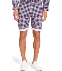 "brooklyn brigade men's standard-fit 9"" queensland flat front shorts"