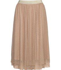 skirt lång kjol beige sofie schnoor
