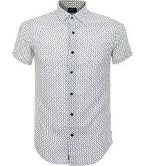 armani fantasia white shirt 3y6c25