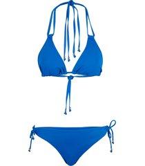 bikini a triangolo (set 2 pezzi) (blu) - rainbow
