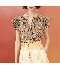 camicetta issa a stampa batik