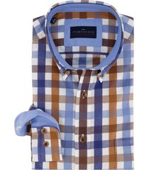 portofino overhemd casual fit geruit