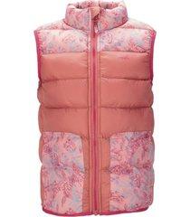 chaqueta airy vest jacket rosa lippi