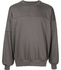 08sircus jersey sweatshirt - grey