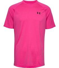 ua tech 2.0 ss tee t-shirts short-sleeved rosa under armour
