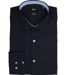 hugo boss overhemd goran donkerblauw rf 50421521/404