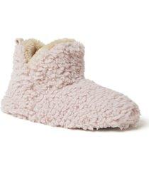 dearfoams women's cheslea bootie slippers