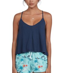 roxy juniors' happy thoughts strappy tank top