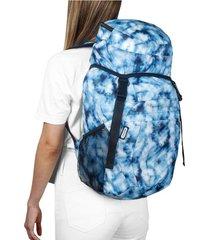 morral viajero plegable estampado tie dye citybags multicolor