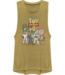 disney pixar juniors' toy story 4 toy crew festival muscle tank top