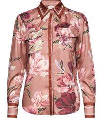 rene shirt blouse lange mouwen roze by malina