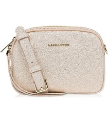 lancaster paris actual shiny mini crossbody bag