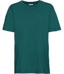 ecologisch t-shirt voor hem & haar, petrol l