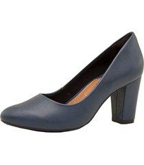 zapato azul ramarim