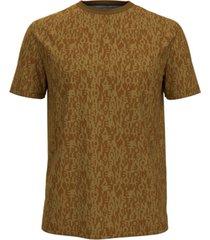 tommy hilfiger men's tommy jeans corey jacquard t-shirt