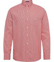 d1. bc structure reg bd overhemd casual roze gant