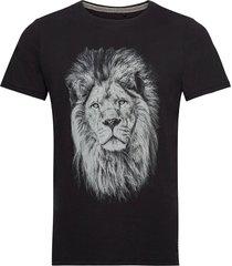 tee t-shirts short-sleeved svart blend