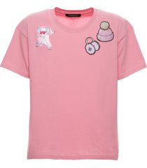 chinese new year 2020 regular pink t-shirt for woman