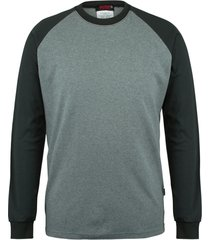 wolverine men's fr brower long sleeve tee ash, size m