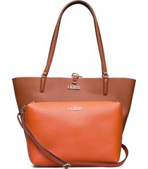 alby toggle tote shopper tas oranje guess