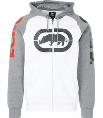 ecko unltd men's cornerstone full zip hoodie