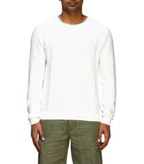 eleventy sweater eleventy platinum crewneck sweater in cotton