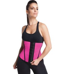 cinta modeladora waist trainer rosa esbelt 062wt