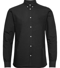 christoph oxford shirt overhemd casual zwart les deux
