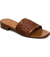 slipper 4020 shoes summer shoes flat sandals brun billi bi