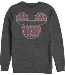 fifth sun men's sweater fill mouse long sleeve t-shirt