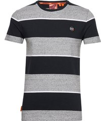 collective stripe tee t-shirts short-sleeved multi/mönstrad superdry
