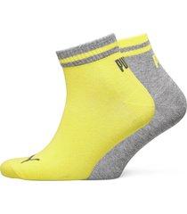 puma heritage quarter 2p underwear socks regular socks gul puma