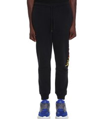 buscemi pants in black cotton and nylon