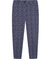 pantalón para mujer para mujer margaritas color azul, talla 10