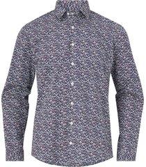 skjorta flower print shirt l/s