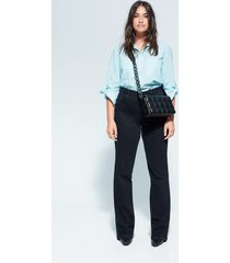 plumetis blouse met zakken