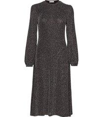 marcie dress jurk knielengte grijs ida sjöstedt