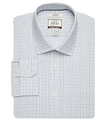 1905 collection tailored fit spread collar grid repreve® dress shirt clearance, by jos. a. bank