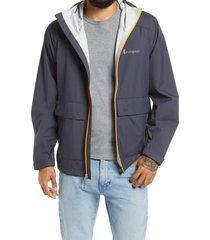 men's cotopaxi men's parque rain jacket, size medium - grey
