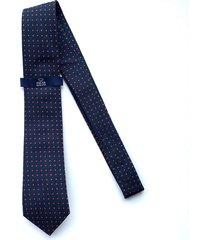 corbata azul oscura oscar de la renta 23ay2129-189