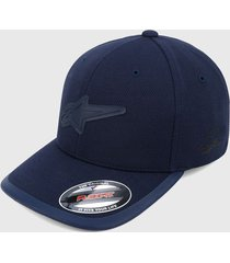 gorra azul navy alpinestars