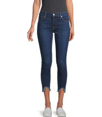 7 for all mankind women's the ankle skinny jeans - fletcher - size 23 (00)